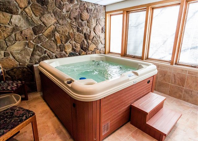 Private Indoor Hot Tub