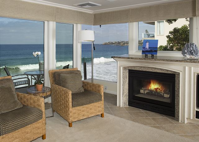 Villa Antigua Living Room Boasts Fantastic Ocean View