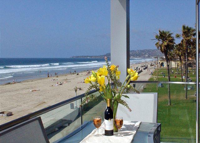 Spectacular oceanview retreat- unobstructed view, full kitchen, plasma TVs - San Diego, California