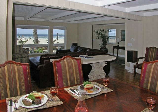 Luxurious Oceanfront home with ocean views throughout and large patio. - San Diego, California