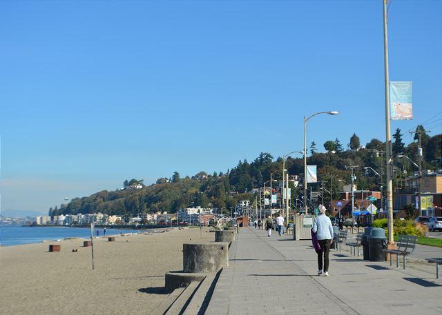 Boardwalk at Alki Beach