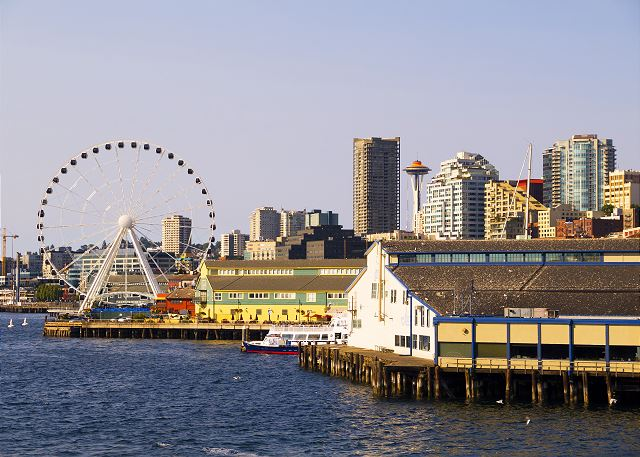 Grab a ride on the Great Wheel, a fantastic new addition to the waterfront.