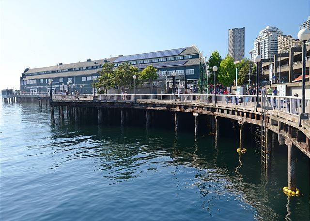 The picturesque Seattle waterfront is an easy distance as well.