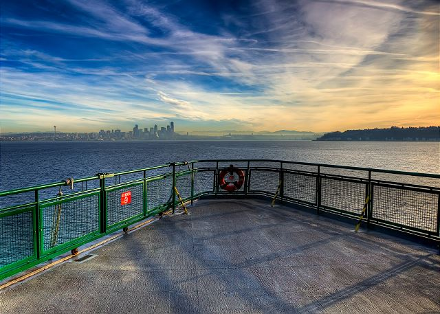 Experience a Washington State Ferry ride for yourself!