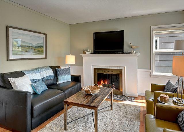 Fireplace works with presto logs