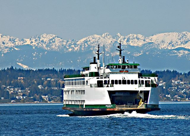 Take the ferry to Bainbridge Island for the day