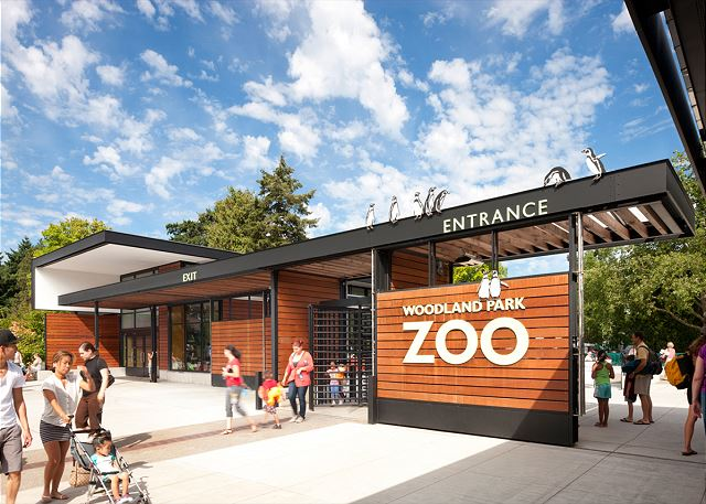 Woodland Park Zoo is a world-class zoo just down the street