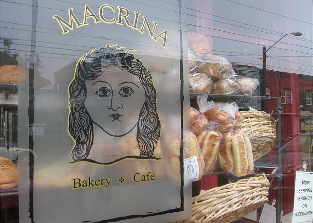 Just downstairs is delicious Macrina Bakery