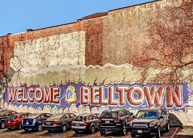 Belltown is a hip neighborhood in north downtown!
