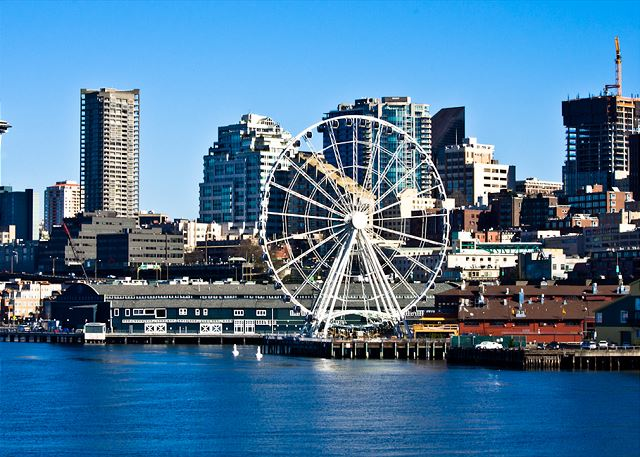 Try our newest attraction, the Seattle Wheel