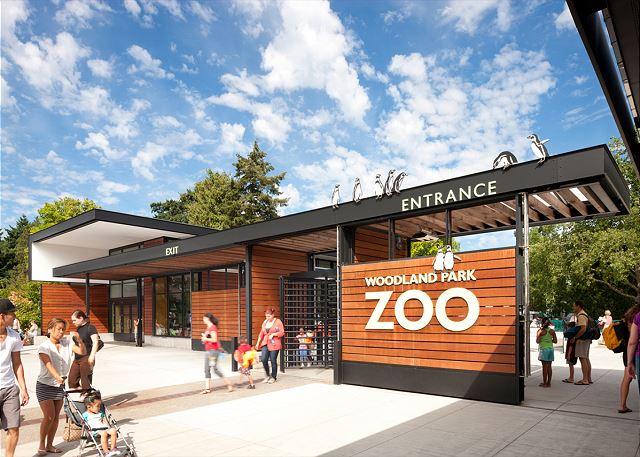 Woodland Park Zoo is just a short walk away