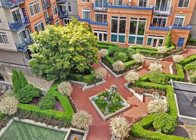 Vibrant Courtyard