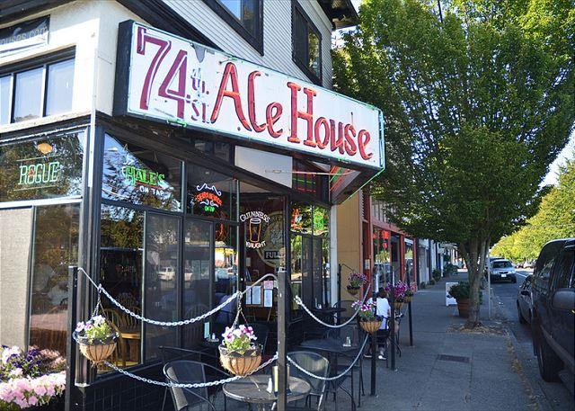 74th Street Alehouse is just one of many local treasures on Phinney Ridge