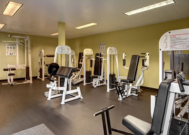 Fully equipped exercise facility