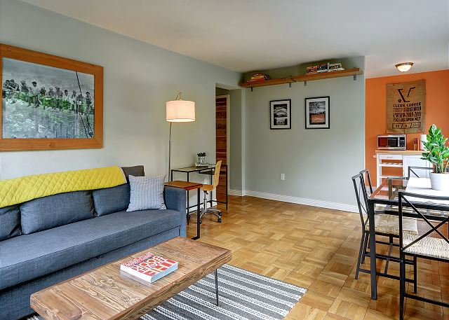Plenty of unique charm throughout this pleasant condominium.