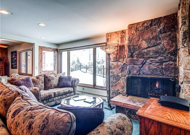 A true ski-in/ski-out ground floor condo