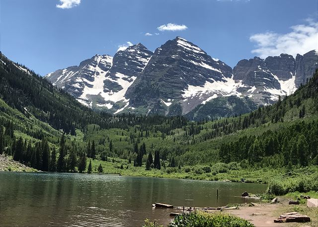Close to the Maroon Bells