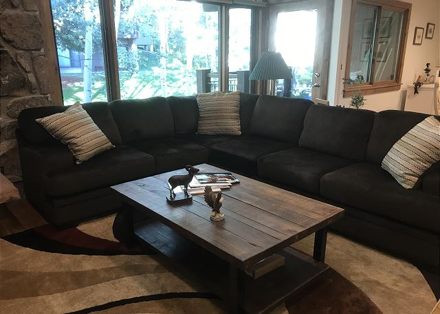 Beautiful new sectional couch