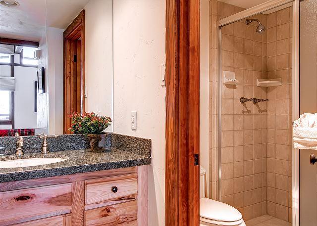 Oversized master bathroom