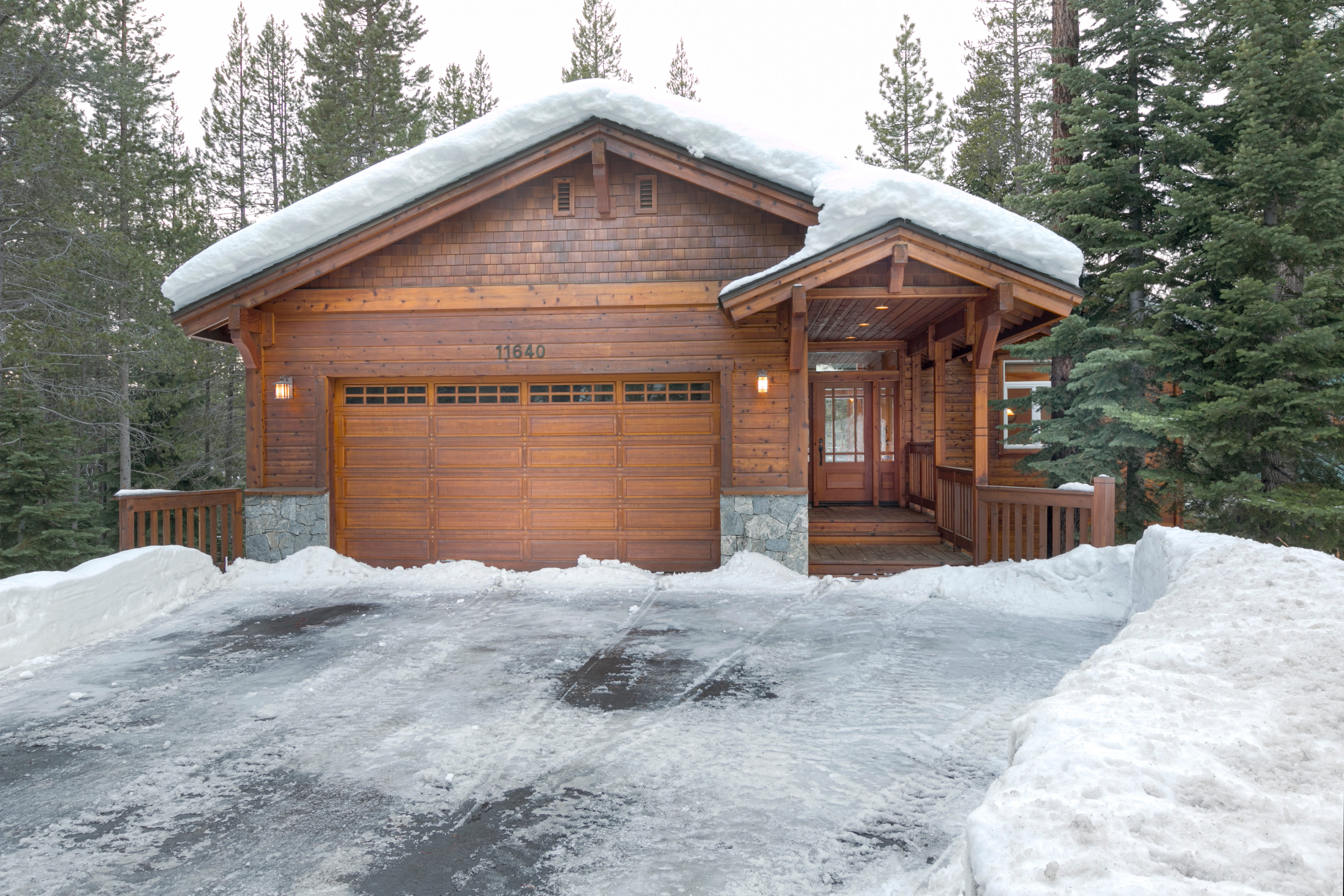 charming pines cabins ski redawning among cabin the vacation property in tahoe rental truckee donner