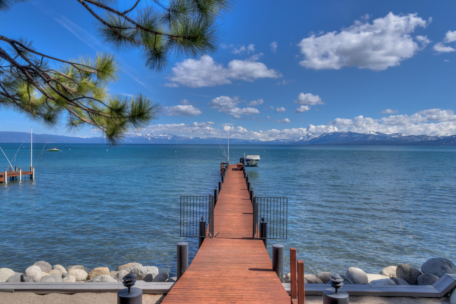Whispering Pines lakefront home on Lake Tahoe