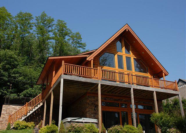 Deep Creek Lake Vacation Rental House Lakeside Lodge