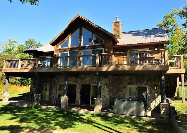 Deep Creek Lake Vacation Rental House Glass Mountain
