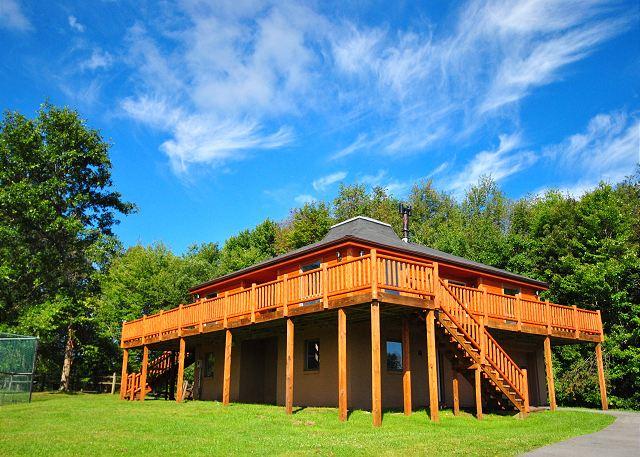 Deep Creek Lake Vacation Rental House Log Hut Taylor