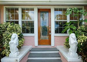 Entryway to home