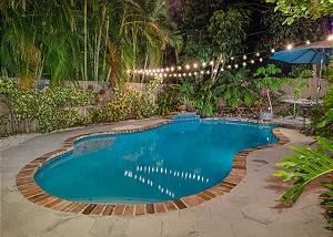 Evening Poolside