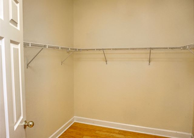 One of the walk in closets, located to your left as you enter this Master Suite.