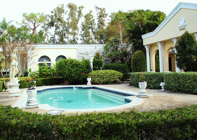 Jungle Terrace 3 Acre Mediterranean Home Pool 3401