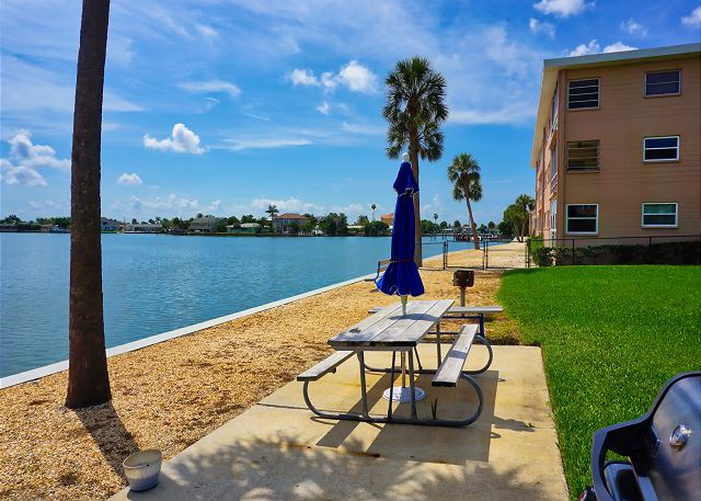 St. Pete Beach Condo with Tropical Water Views 6363