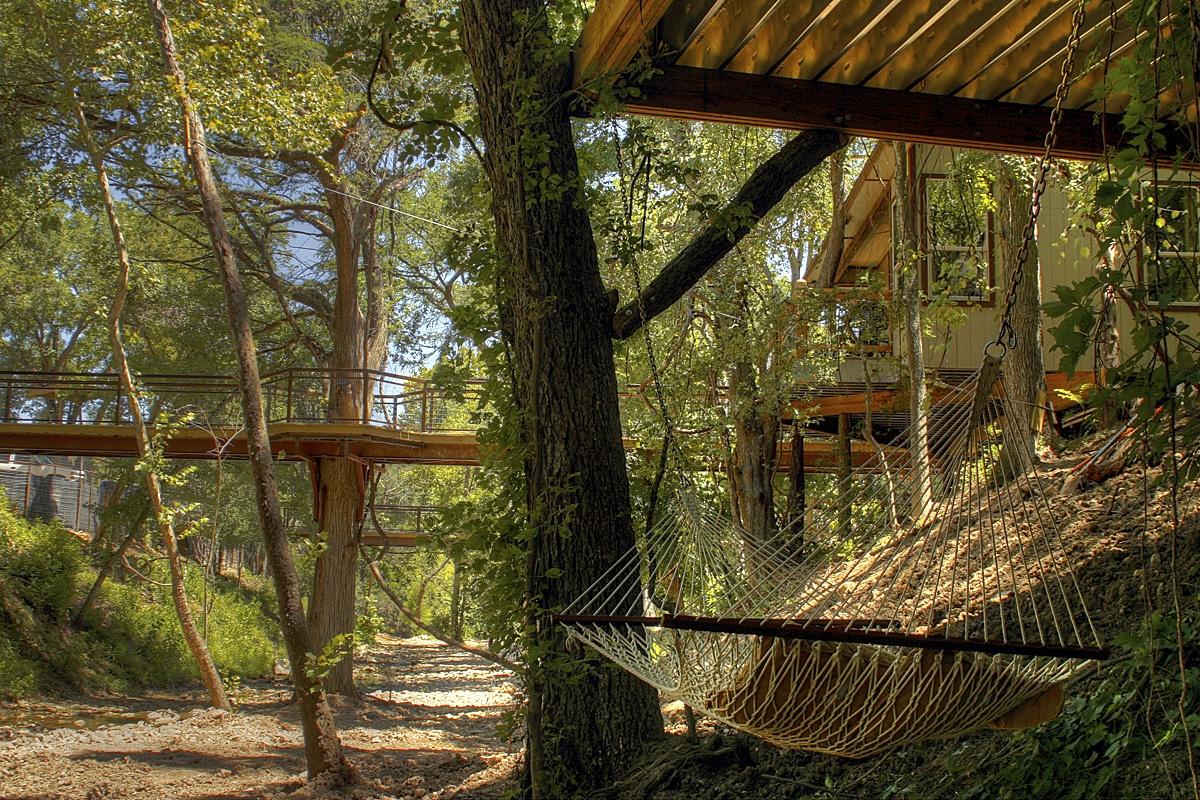 River Rd Treehouses Birdseye Perch Best Texas Travel