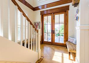Amazing entryway with lots of natural light