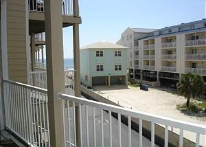 View from balcony -Descriptive