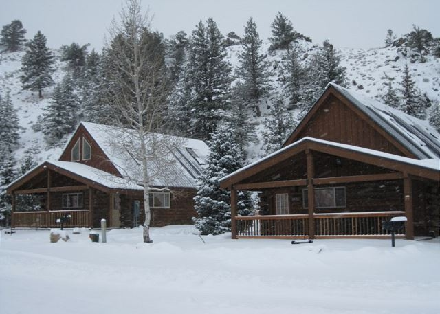 Winter cabins 28 and 29