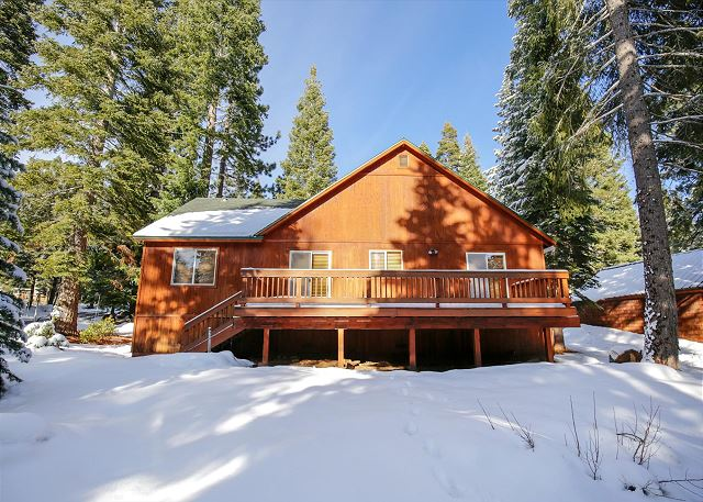 Blodgett's Tahoe Donner Vacation Home