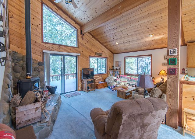Alpine Forest View Cabin in Tahoe Donner Truckee CA