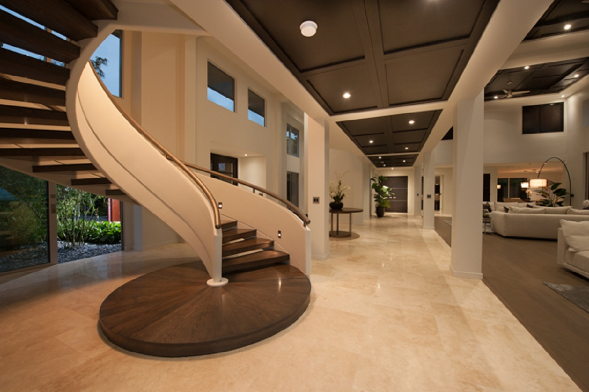 Distinctive Floating Staircase