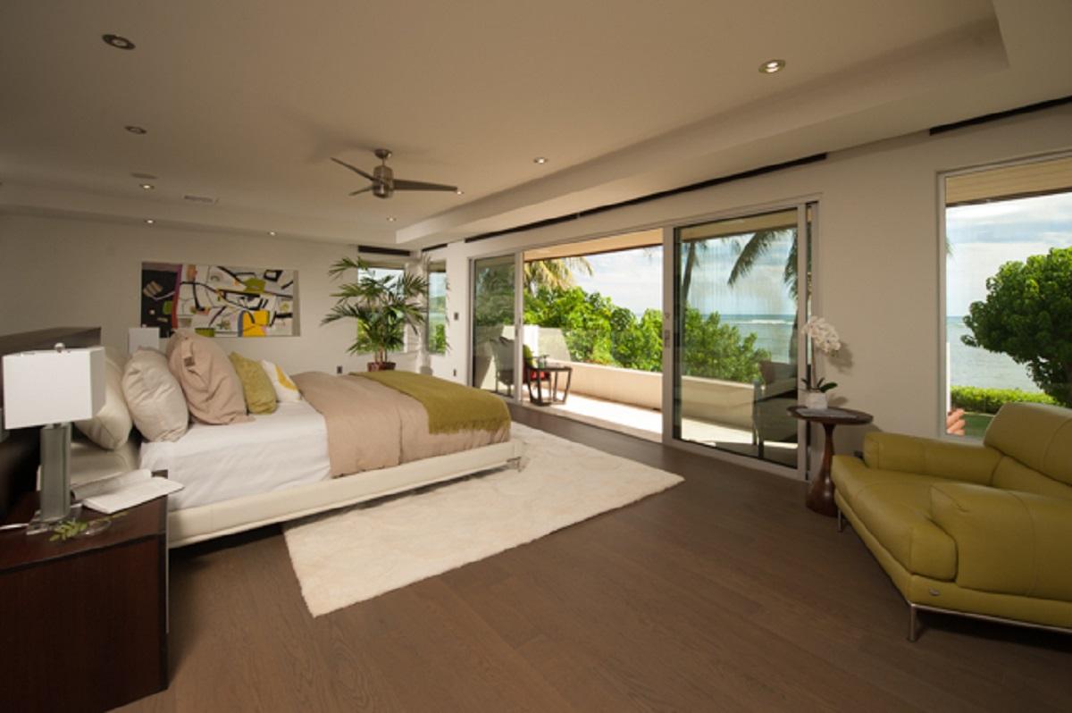 Upstairs Master Bedroom Oceanfront Suite