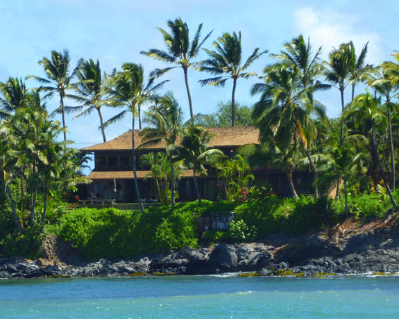 Beautiful, private oceanfront home in Paia