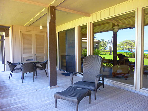 Great Lanai with Oceanview