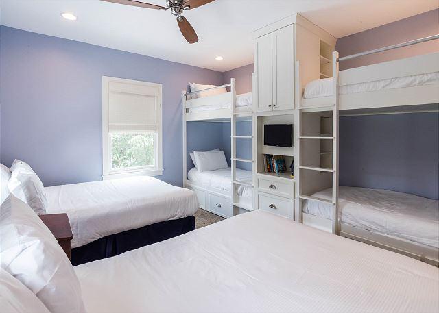 Second Floor: Guest Bunk Room