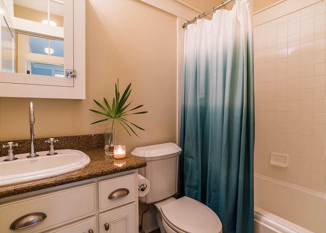 First Floor: Shared Hall Bathroom