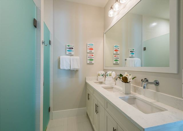First Floor: Bunk Room Two Bathroom