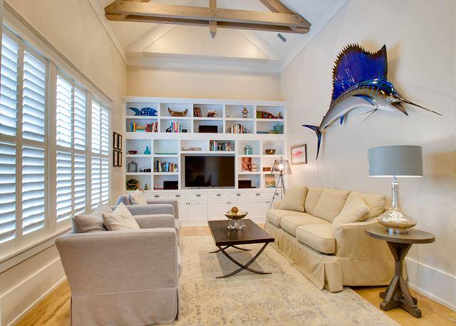 First Floor: 2nd Living/ Media Room