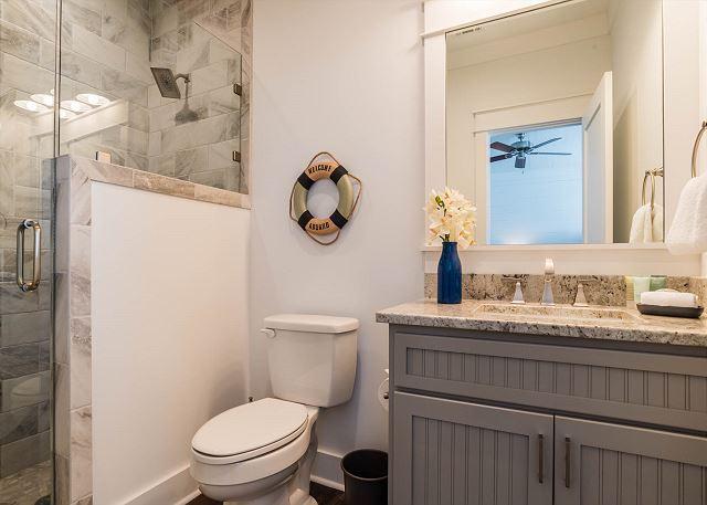 Third Floor: Bunk Bathroom