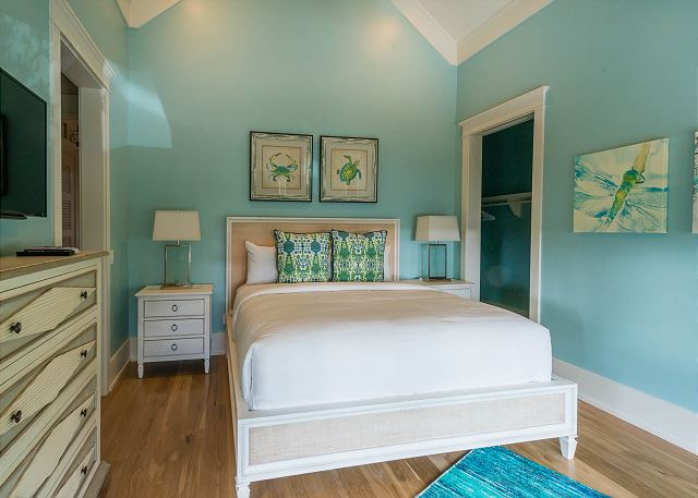 Second Floor: King Bedroom with Private Bathroom