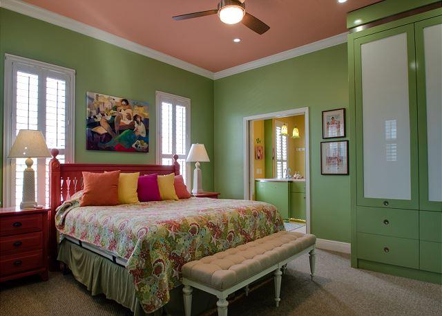 Second Floor: Guest King Bedroom